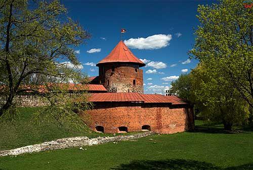 Litwa-Kowno (Kaunas). Zamek.