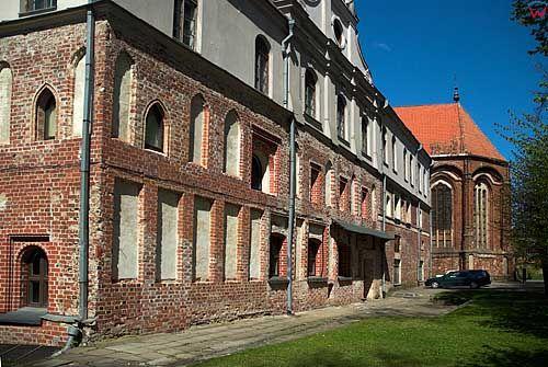 Litwa-Kowno (Kaunas). Kościół i klasztor Bernardynów.