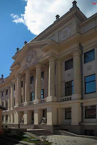 Litwa-Kowno (Kaunas). Pałac-siedziba kurii.