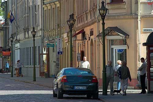 Litwa-Kowno (Kaunas). Ulica Wileńska.