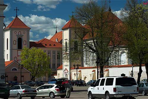 Litwa-Kowno (Kaunas). Kościół seminaryjny. św. Trójcy.