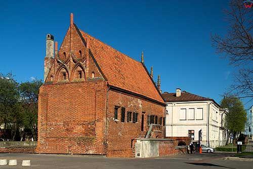 Litwa-Kowno (Kaunas). Dom Perkuna.