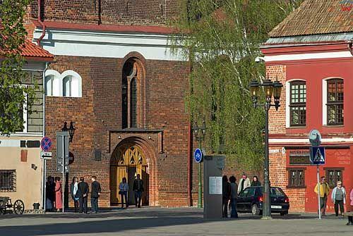 Litwa-Kowno (Kaunas). Rynek.