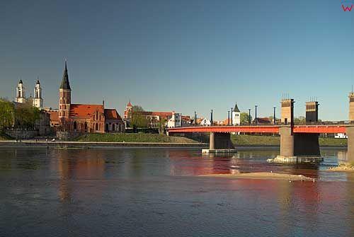 Litwa-Kowno (Kaunas). Most na Niemnie.