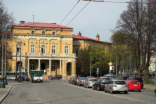 Litwa-Wilno. Bibloteka Uniwersytecka przy ul. Vrublewskio.