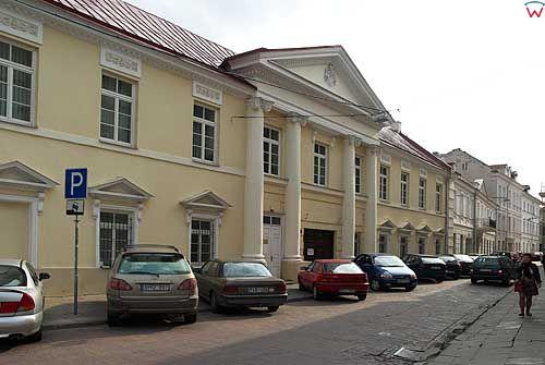 Litwa-Wilno. Pałac przy ul. Skapo