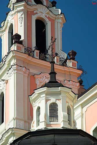 Litwa-Wilno. Kościół św. Katarzyny