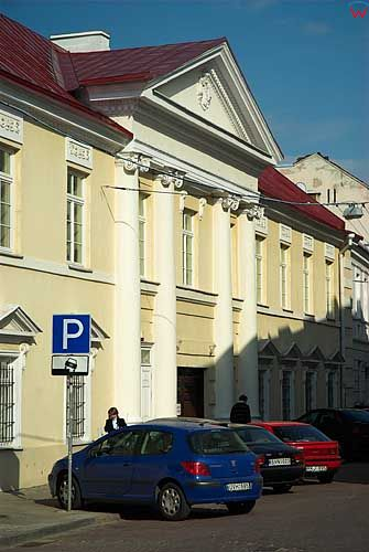 Litwa-Wilno. Ulica Uniwersytecka.