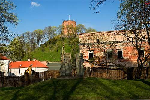 Litwa-Wilno. Wieża Giedymina na Górze Zamkowej.