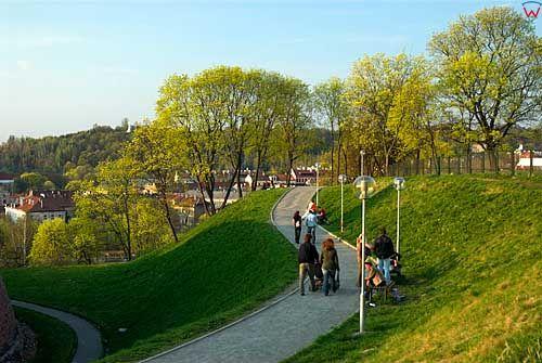 Litwa-Wilno. Barbakan, Góra Zbawienia.