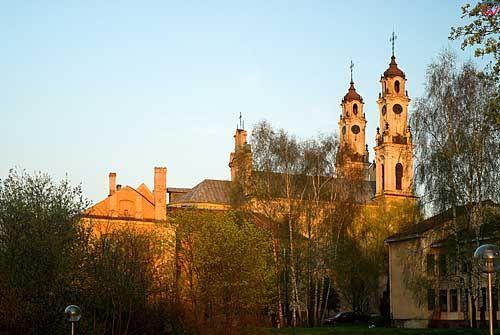 Litwa-Wilno. Kościół Misjonarzy-Wniebowstąpienia Pańskiego.