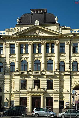 Litwa-Wilno. Budynek Filharmonii.