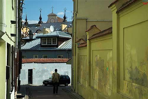 Litwa-Wilno. Ulica Literacka.