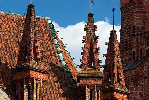 Litwa-Wilno. Elementy architektoniczne kościoła św. Anny.