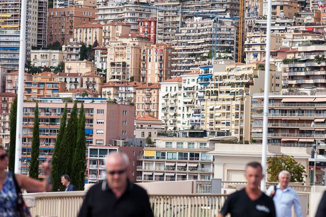 Monaco, 15.09.2015 r. Bulwar du Larvotto.