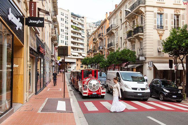 Monaco, 15.09.2015 r. ulica Rue Suffren Reymond.