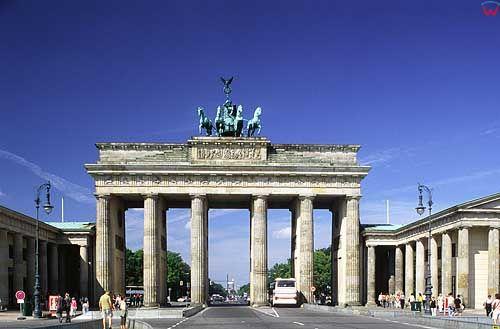 Brama Brandemburska w Berlinie