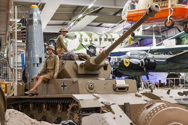 Sinsheim (NIemcy) Auto & Technik Museum, 07.09.2015 r. Muzeum Techniki i SamochodĂłw stanowiace najwieksza, prywatna kolekcje. EU, Niemcy.