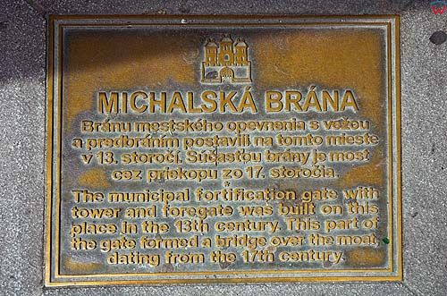 Bratysława, brama michała