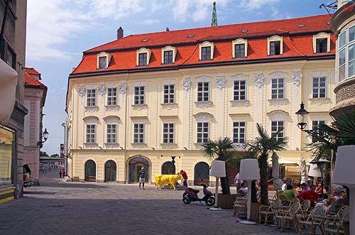 Bratysława stare miasto