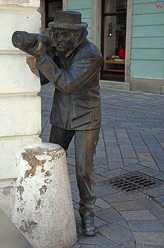 Bratysława pomnik na starym mieście