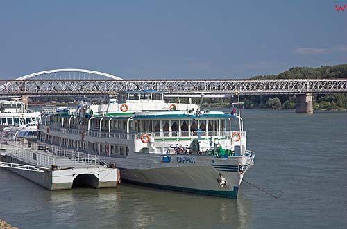 Bratysława port nad Dunajem