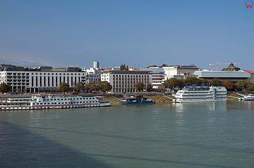 Bratysława, port nad Dunajem