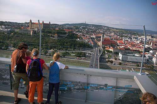 Bratysława, wieża widokowa nad resturacją