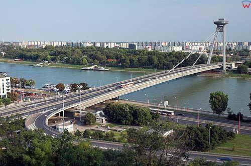 Bratysława, most nad Dunajem