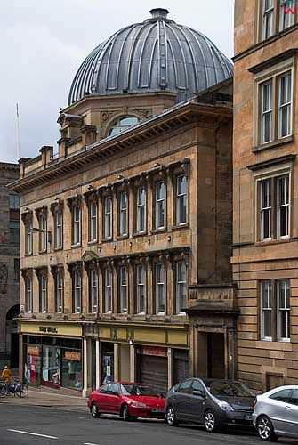 Szkocja-Glasgow. Rose Street.