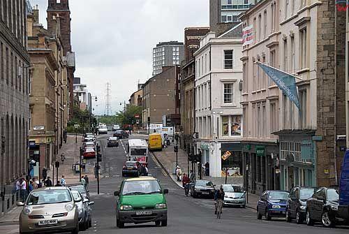 Szkocja-Glasgow. Bltschot Street.