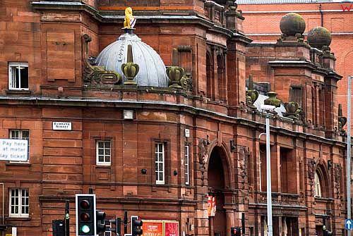 Szkocja-Glasgow. Elmbank Street.