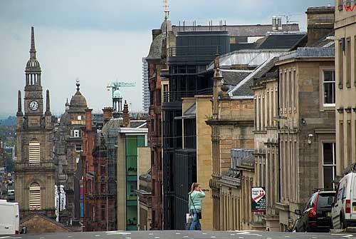Szkocja-Glasgow. Architektura miasta.