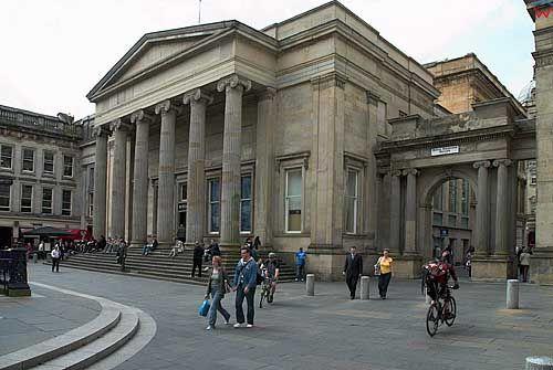 Szkocja-Glasgow. Royal Exchange Square.