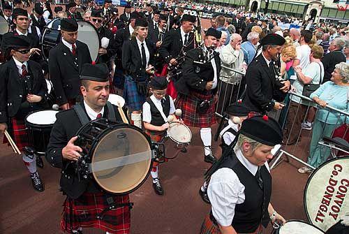 Szkocja-Glasgow. Piping Festival. Miedzynarodowy Festiwal Dudziarzy.