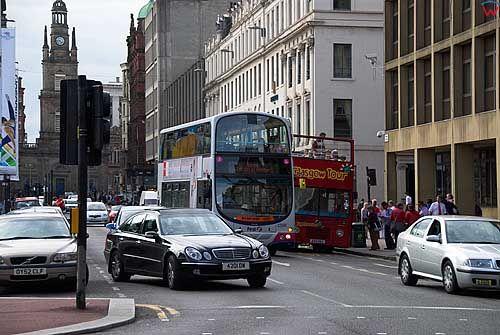 Szkocja-Glasgow. George Square.