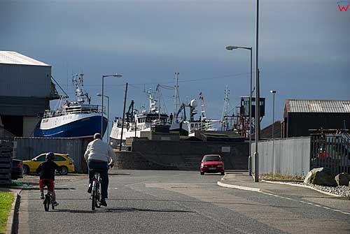 Szkocja-Macduff. Port.