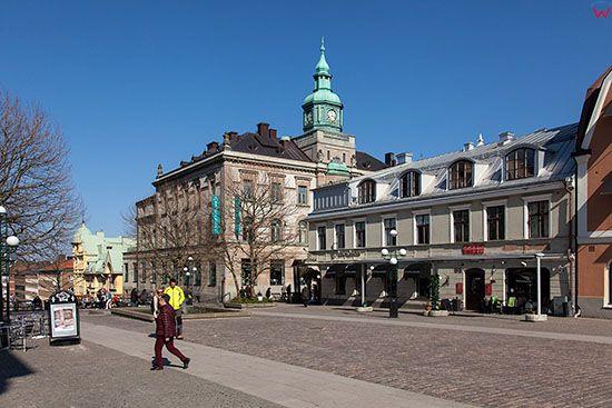 Karlskrona, Square of Klapeida. EU, Szwecja.