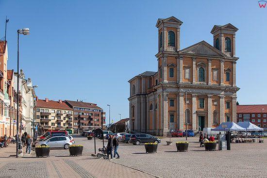 Karlskrona, kosciol Fryderyka. EU, Szwecja.