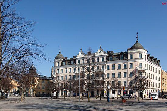 Karlskrona, okolica ulicy Kungsplan. EU, Szwecja.