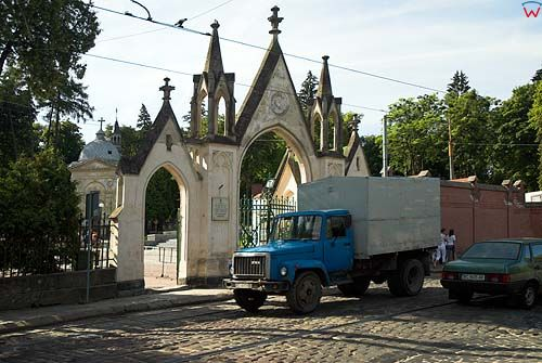 Lwów. Cmentarz Łyczakowski.