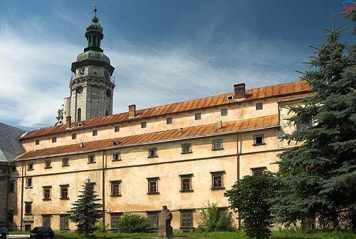 Lwów. Kościół i Klasztor Bernardynów.