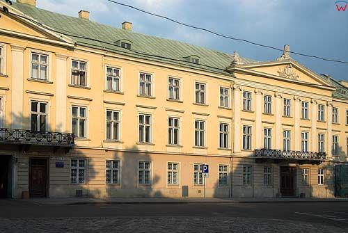 Lwów. Pałac przy ul. Wynnyczenka.