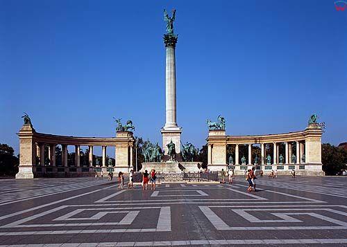 Budapeszt, pomnik milenium