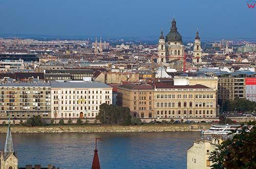 Budapeszt, panorama na Peszt